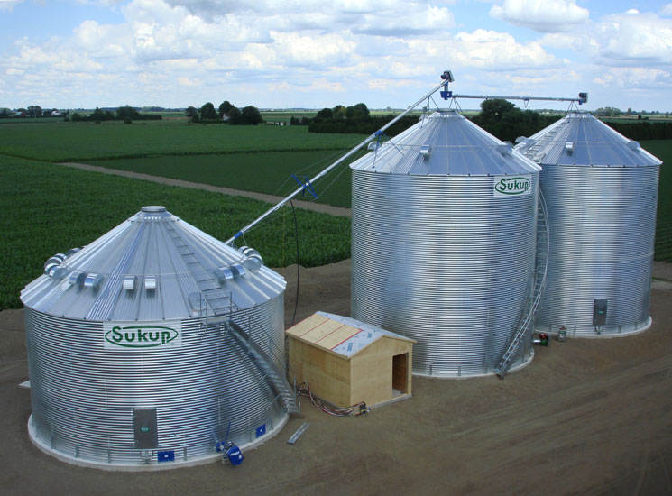 Used Grain Blowers : Devolder farms seed production sales grain handling